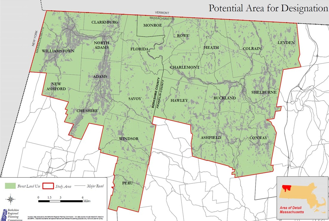 Potential Area for Designation of MTWP ​MOHAWK TRAIL WOODLANDS PARTNERSHIP (MTWP)